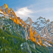 Grand Tetons at Sunset — Stock Photo