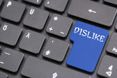Dislike Facebook — Stock Photo
