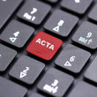Acta keyboard - Stock Photo