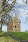 Greenknow tower scottish borders — Stock Photo