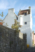 Towerhouse and turret at Culross — Stock Photo