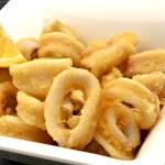 Squid dish — Stock Photo