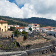Houses on the hillside of vilaflor — Stock Photo