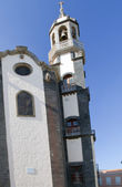 Steeple of the church of Concepcion — Stock Photo