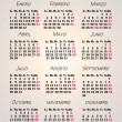 Stock Photo: Calendar year 2013