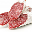 Royalty-Free Stock Photo: Pieces of Salchichon