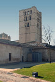 Tower of the Cathedral of Zamora — Foto Stock