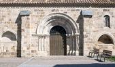 Portykiem kościoła — Zdjęcie stockowe