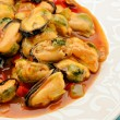 Mussel stew — Stock Photo