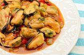 Mussel stew — Stockfoto