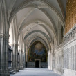 Hall in the cloister - Stock Photo