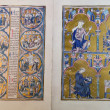 Codex medieval - Stockfoto