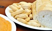 Pan blanco — Stock Photo