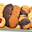 Stock Photo: Bandejde galletas