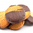 Galletas de chocolate — Stock Photo