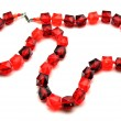 Bead rolled red — Stock Photo #8884280