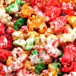 Popcorn multicolored - Stock Photo