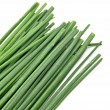 Chive leaves — Stock Photo