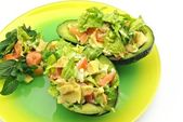 Stuffed avocados — Stockfoto