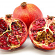 Halved pomegranate - Stock Photo
