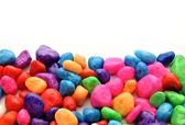 Stones of various colors — Stock Photo
