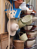 Wicker handicrafts — Stock Photo