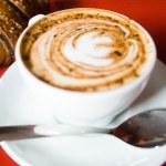 Постер, плакат: Cappuccino And Croissant