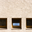 Squared windows — Stock Photo