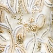 Wedding Dress Fabric — Stock Photo