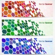 Abstract digital banners - Stock Vector