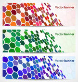 Abstract digital banners — Stock Vector