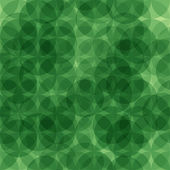 Abstract green geometric seamless pattern — Stock Vector