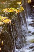 Detal fontanna wodospad — Zdjęcie stockowe
