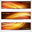 Stock Vector: Banners and headers abstract background