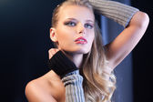 Closeup schöne frau modells. — Stockfoto