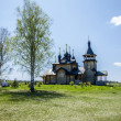 Wooden orthodox church — Stock Photo #10647177