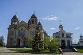 Christian orthodox monastery — Stock Photo