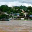 ストック写真: North Laos and Mekong river
