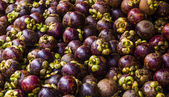 Mangosteens full frame — Stock Photo