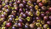 Mangosteens full frame — Stock Photo