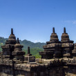 Borobodur - buddhist temple — Stock Photo