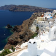 Santorini church. Oia. Greece — Stock Photo