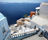 View of Santorini island Greece — Stock Photo
