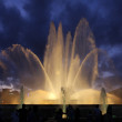 Stock Photo: Singing fountains