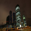 Moscow City skyscrapers at night — Stock Photo #7987007