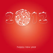 Happy new year 2012 card — Stock Vector