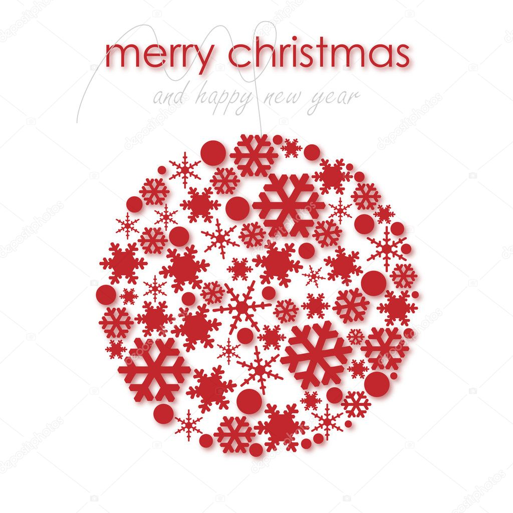 Vector christmas ball  Stock Vector #8710851