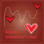 Dia dos namorados coração — Vetorial Stock