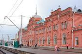 Station van een stad van kazan in rusland — Stockfoto