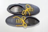 Gray boots — Stock Photo